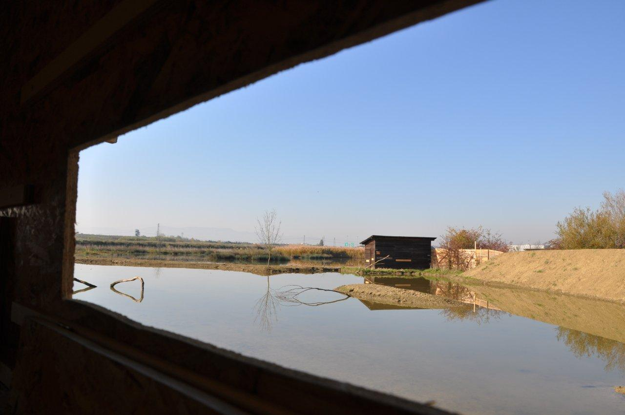 Il nuovo lago dell'Anpil La Querciola