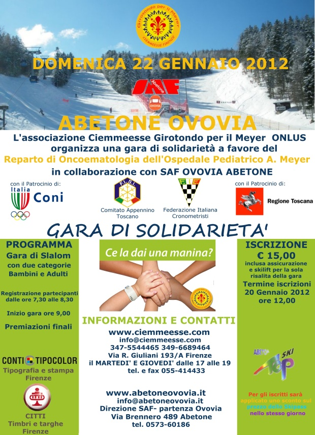 Gara di solidariet all'Abetone