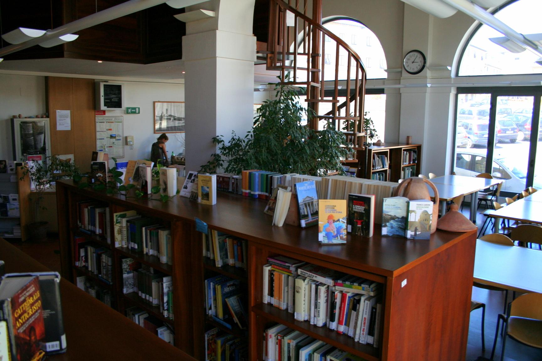 Biblioteca Impruneta (Foto Antonello Serino redazione Met)