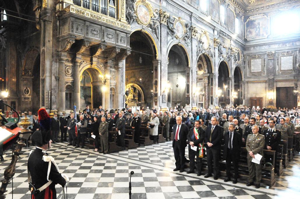 Un momento della cerimonia (Foto di Angelo Faiazza -IGM)