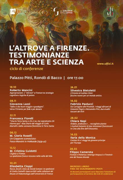 Manifesto 'L'Altrove a Firenze'