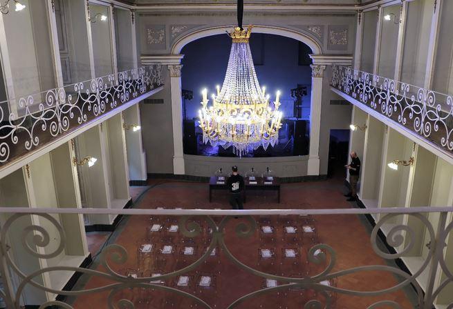 L'inaugurazione del Teatro Rinuccini (foto Antonello Serino - Met)