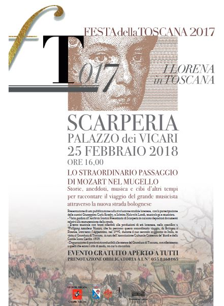 Locandina Festa della Toscana a Scarperia