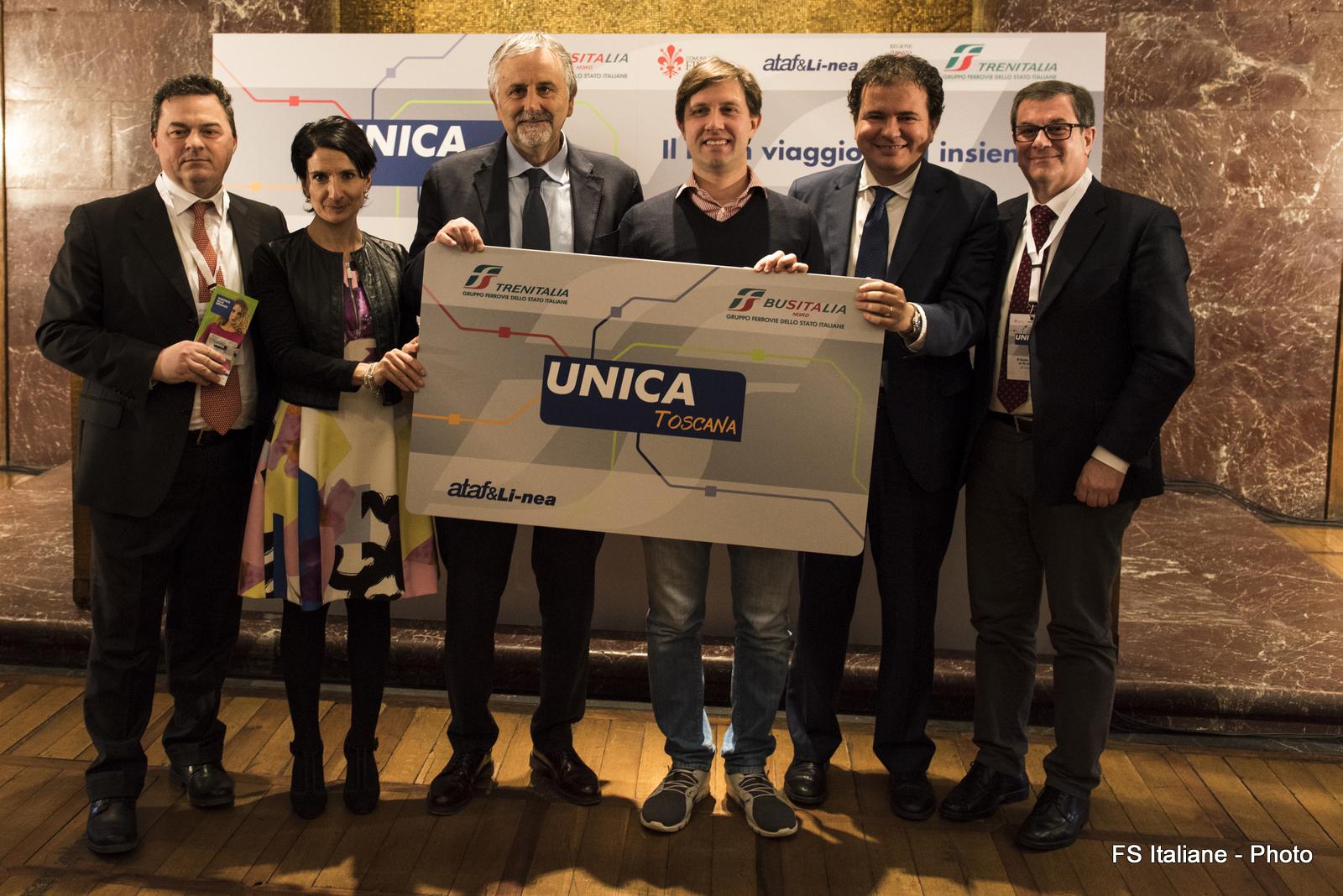 BusItalia, TreniItalia e Ataf&Li-nea: nasce Unica Toscana, il buon viaggio si fa insieme