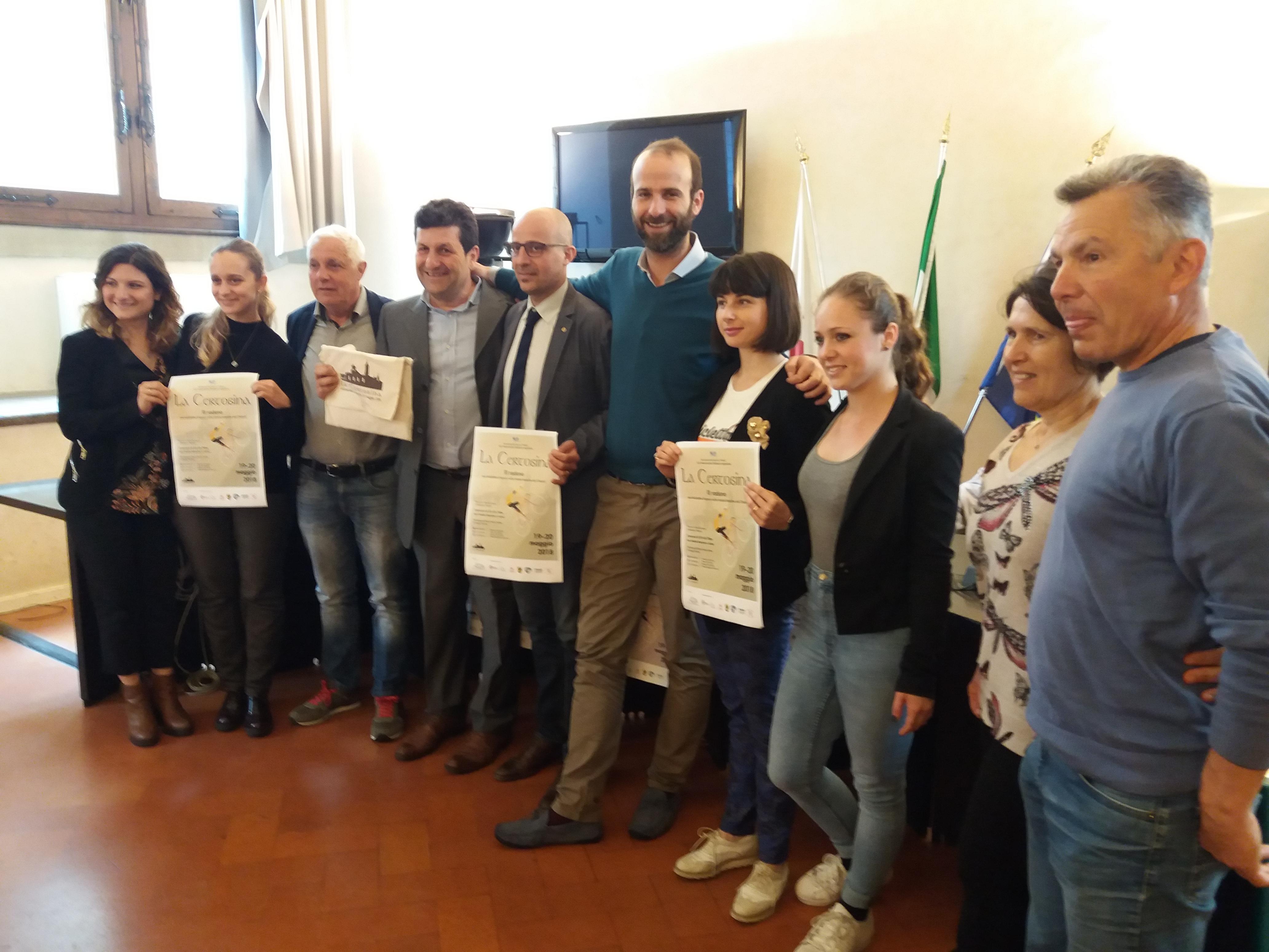 """L'Assessore Vannucci e il Presidente del Quartiere 1 Esposito alla presentazione de """"La Certosina"""""""