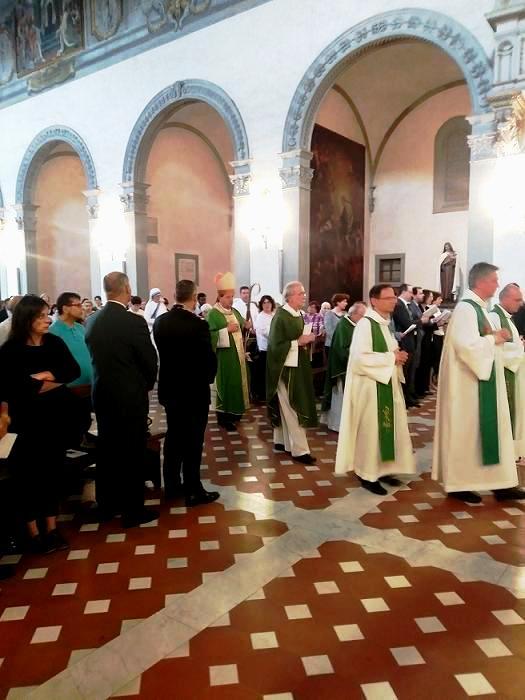 La Messa a Firenze per i 50 anni della Comunità di Sant'Egidio