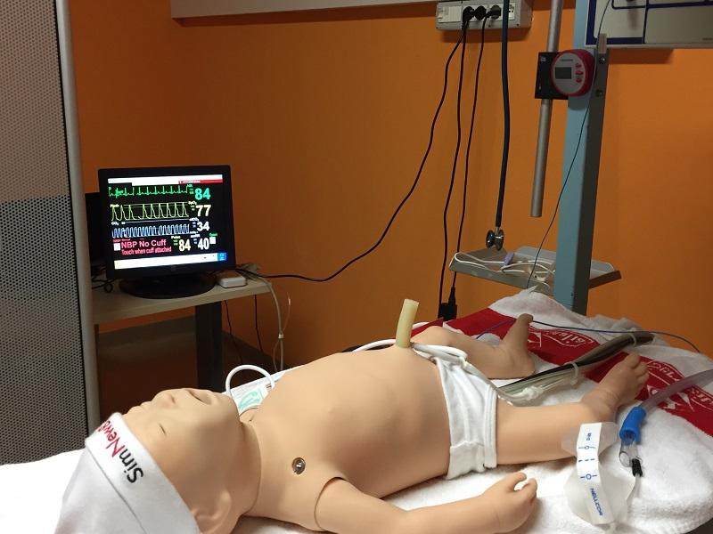 Fonte foto Asl Toscana Centro - Nina, il simulatore neonatale
