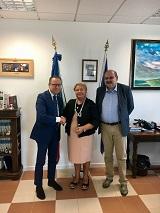 Il Prefetto Zarrilli riceve il Presidente della Camera di Commercio di Pistoia