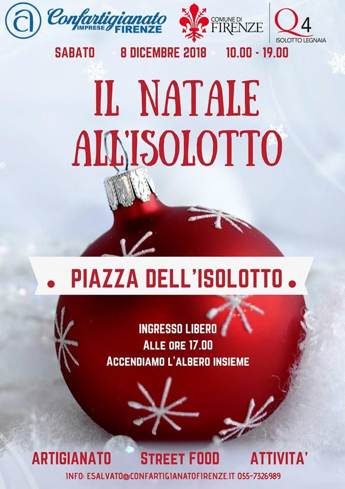 Locandina Natale all'Isolotto