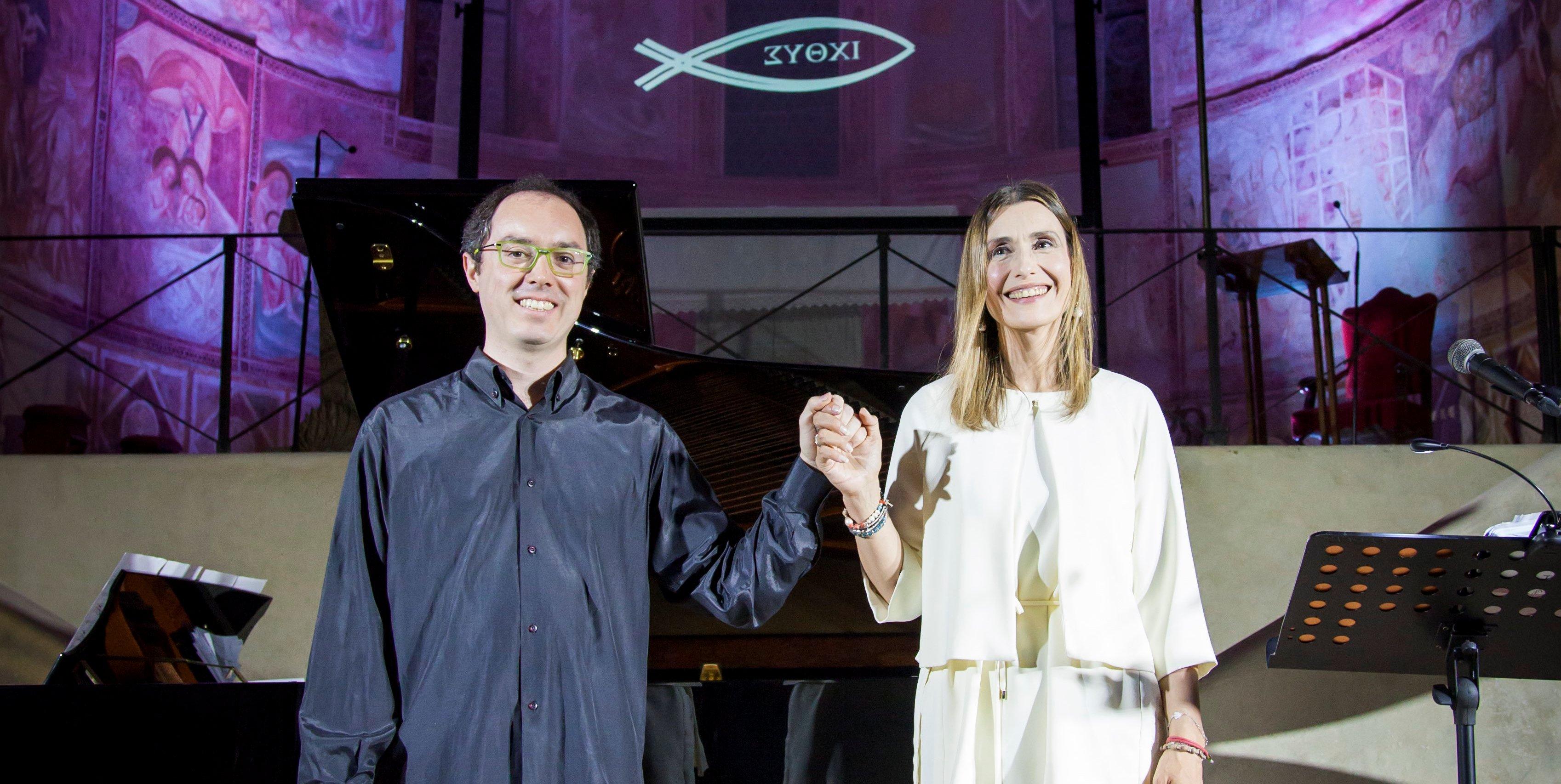 Claudia Koll e Alessandro Marangoni