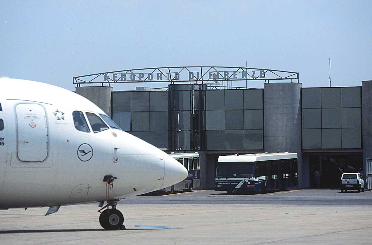 l' Aeroporto di  Peretola (foto da R.T.)