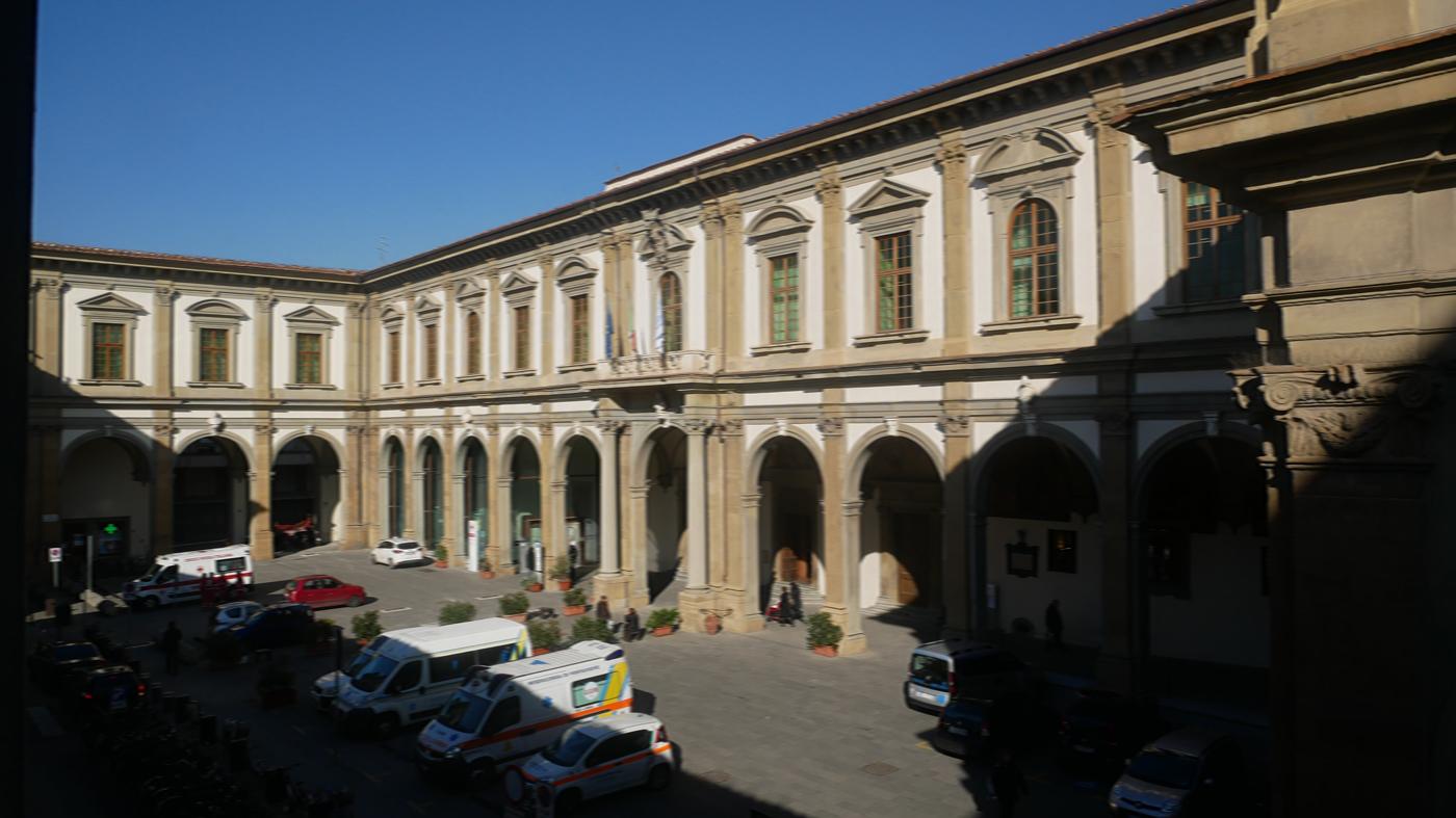 l'Ospedale di Santa Maria Nuova (foto da sito usl)