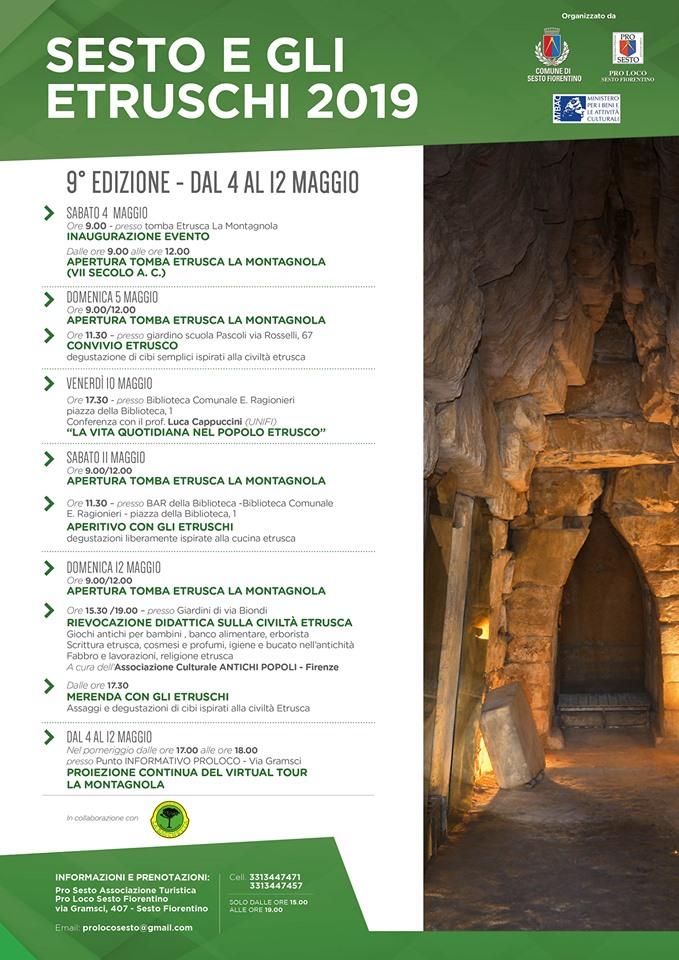 Locandina Sesto e gli Etruschi 2019