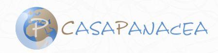 Il logo di Casa Panacea (immagine da sito internet dell'associazione)