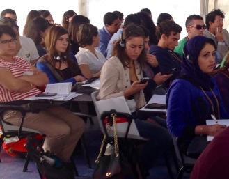 Giovani a San rossore (foto da comunicato RT)