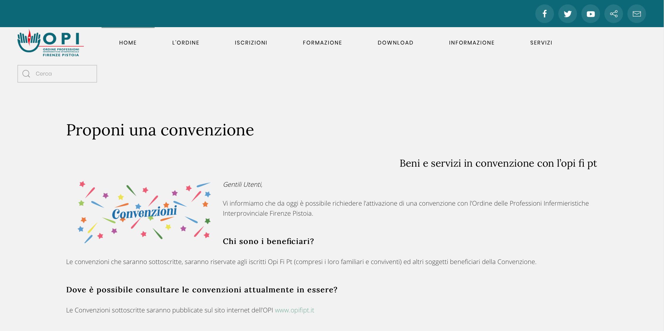 Convenzione (immagine da comunicato)