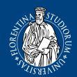Agenda degli appuntamento dell'Università di Firenze