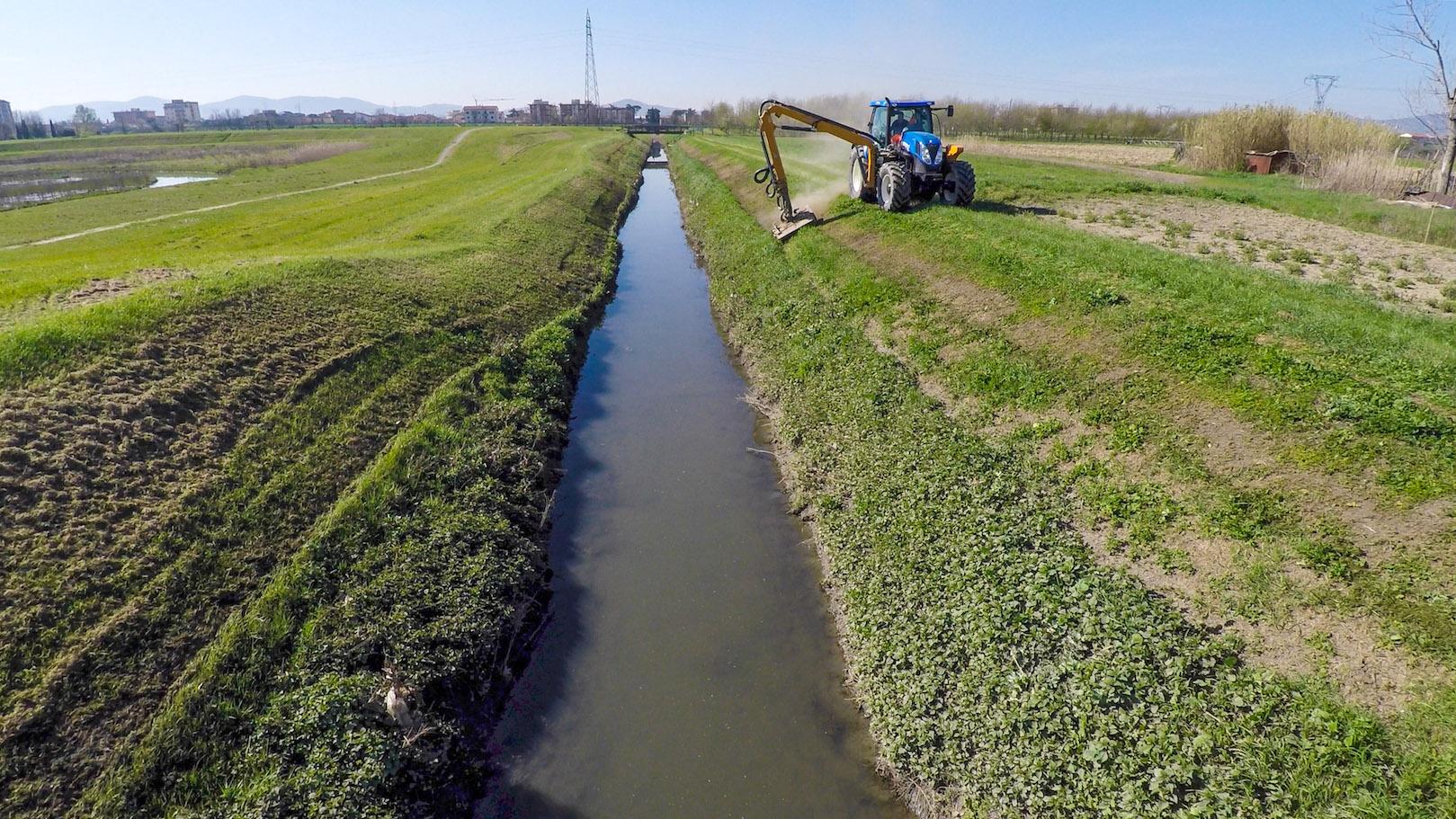 Interventi corsi d'acqua e argini (Foto da comunicato)