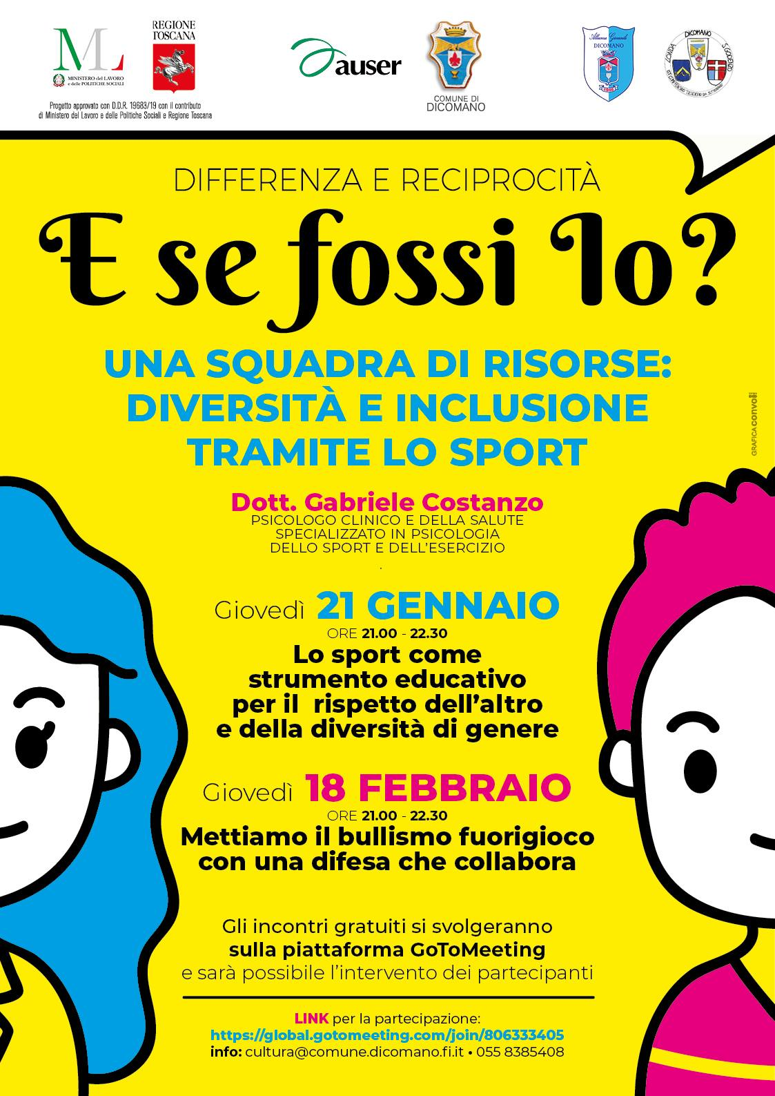 "incontri on line ""e se fossi io"""