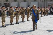 Una celebrazione dell'Esercito a Firenze