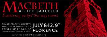 La locandina di 'Macbeth al Bargello'