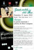 Giornata mondiale della poesia a Marradi