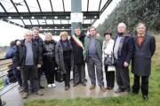 Inaugurazione targa stadio di Tavarnelle