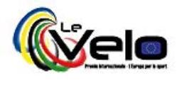 Logo Le Velo - Premio Internazionale - L'Europa per lo sport