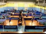 Un'immagine della giornata di ping pong organizzata dal Ciatt