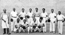Squadra di palla al bracciale di Firenze nel 1922