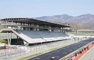 Panoramica del rettilineo di partenza e arrivo dell'Autodromo Internazionale del Mugello
