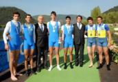Pietro Zileri e Bernardo Nannini sul podio del Memorial d'Aloja con la medaglia d'argento al collo