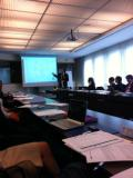 "Un momento del workshop ""Imagine a future for the cluster approach"""