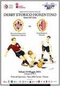 Locandina del Derby Storico fiorentino 2011