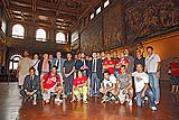 Firenze Rugby in Palazzo Vecchio