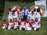 I ragazzi della squadra toscana con il presidente di Fitarco Toscana Tiziano Faraoni