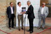 Inaugurazione della Mostra 'I Leoni di Ibrox' (foto Maurizio Fiorenzani)
