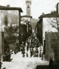 Scarperia in una foto Alinari in mostra al Palazzo dei Vicari