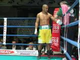 Leonard Bundu sul ring