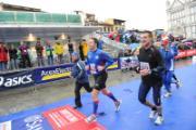 Renzi alla Maratona 2010