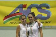 Le ragazze dell'ASD Pattinaggio Londa squadra femminile