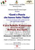 CONCERTO DI CHIUSURA DELLE CELEBRAZIONI DEL 150° DELL'UNITÀ D'ITALIA