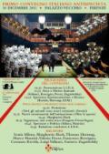 Locandina-programma del primo convegno italiano antispecista