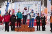 Il podio del 15 febbraio 2011