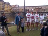 Il presidente Calussi, il vicesindaco Nardella, Zileri, Gattai, Nannini e Marcaccini