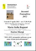 Incontro alle Oblate sull'Africa