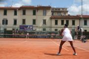 La tennista Lizarazo