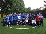 Nazionale di volley a Coverciano