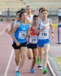 Fase di una gara ai Campionati toscani assoluti 2012