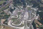 Foto aerea dell'autodromo del Mugello